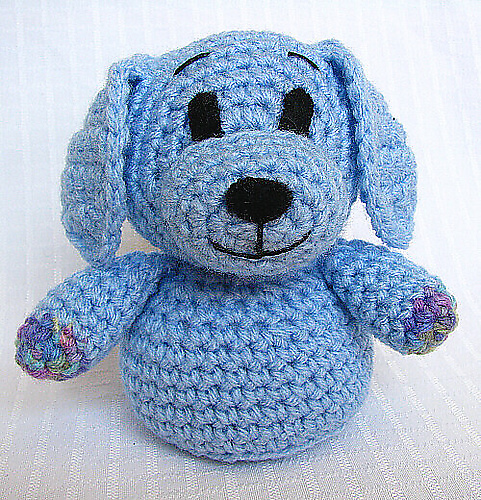 Amigurumi Dog Key Chain | 500x481